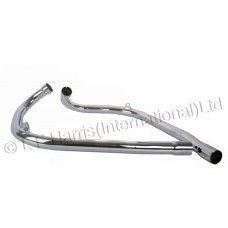 Exhaust Pipes - LH/RH T110/TR6/T120