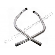 Exhaust Pipes - LH/RH 1 1/2 1967