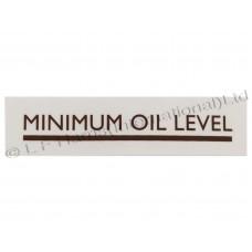 Minimum Oil Level Transfer
